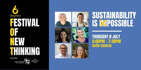 Festival Of New Thinking - Sustainability is Possible tickets