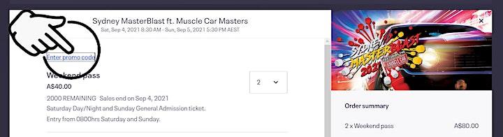 Sydney MasterBlast ft. Muscle Car Masters® image