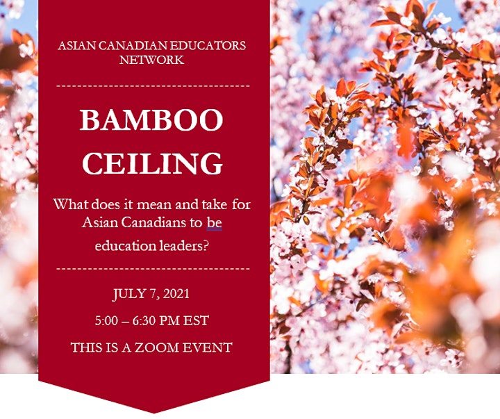 Bamboo Ceiling - What does it take for Asians to be  education leaders? image
