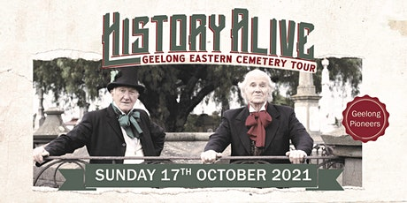 Themed Cemetery Tour - Meet Geelong Pioneers tickets