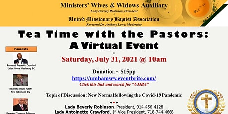 Tea Time with Pastors tickets