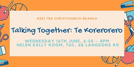 ECE Professional Development  - Talking Together:  Te Korerorero tickets