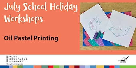 Oil Pastel Printing with Naomi Oliver tickets