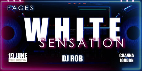 Page3 White Sensation tickets