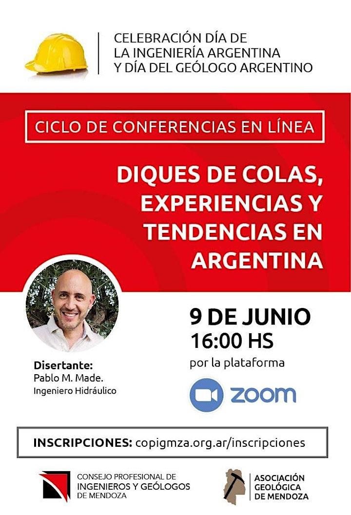 Imagen de Conferencia: Diques de colas | Experiencias y tendencias en Argentina