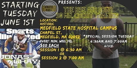 THE RISE AND GRIND: 30 MINUTE CIRCUIT TRAINING BY JONAS GRAY tickets