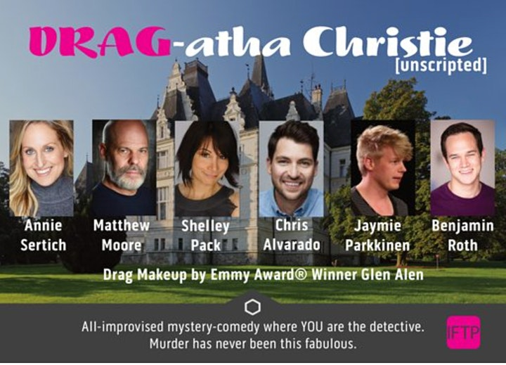 DRAG-atha Christie [unscripted] - All-improvised murder mystery comedy! image