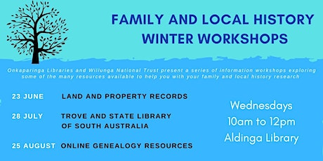 Family and Local History Winter Workshops - Land and Property Records tickets