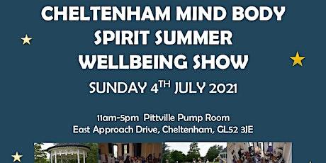 The Cheltenham Mind Body Spirit Wellbeing Show tickets