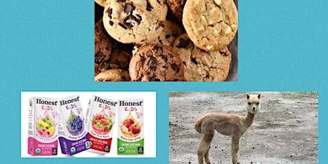 Cookies & Alpacas tickets