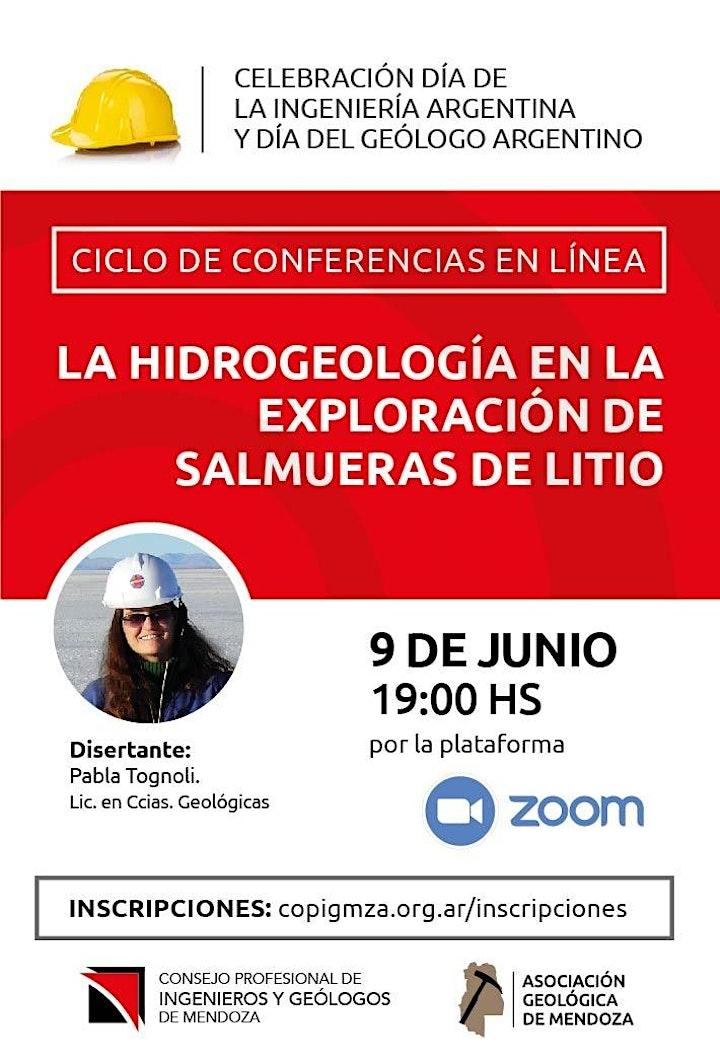 Imagen de Conferencia: La Hidrogeología en la exploración de salmueras de litio