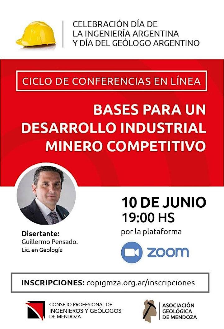 Imagen de Conferencia: Bases para un desarrollo industrial minero competitivo