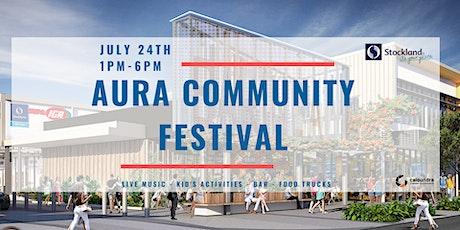 Aura Community Festival tickets