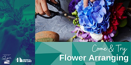 Come & Try: Flower Arranging tickets