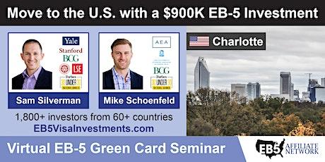 U.S. Green Card Virtual Seminar – Charlotte, US tickets