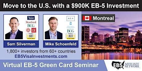 U.S. Green Card Virtual Seminar – Montreal, Canada tickets