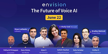 Envision - The Future of Voice AI tickets