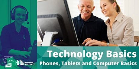 Technology Basics : Phone, Tablet and Computer Basics tickets