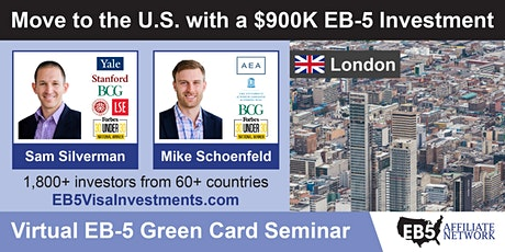U.S. Green Card Virtual Seminar – London, UK tickets