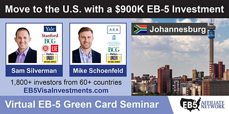 U.S. Green Card Virtual Seminar – Johannesburg, South Africa tickets