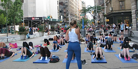 Flatiron Outdoor Fitness  - HIIT with bodē nyc tickets