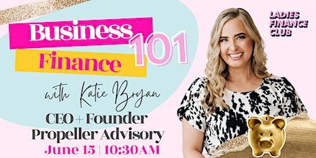 Business  Finance101 tickets