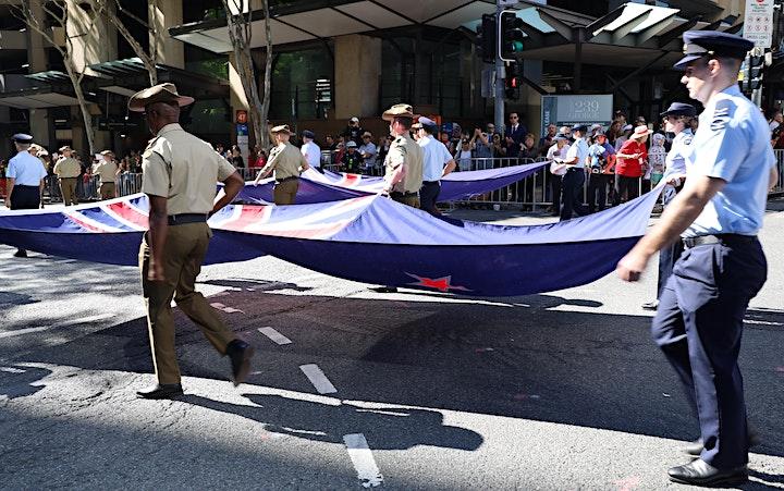 2022 Anzac Day Parade Brisbane image
