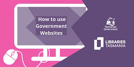 How to use Government Websites @George Town Library tickets