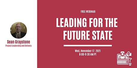 Leading for the Future State tickets