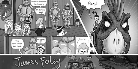 Cartooning and Comics-Making Workshop! tickets