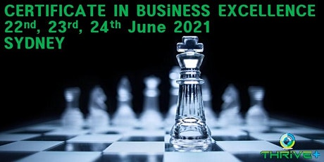 Certificate in Business Excellence - Sydney tickets