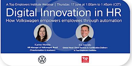 Digital innovation in HR tickets