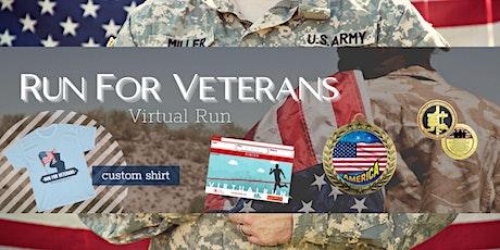 Run for Veterans Virtual Race tickets
