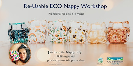 Re-Usable ECO Nappy Workshop Series tickets