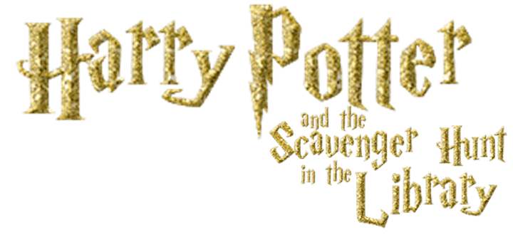 Harry Potter and the Scavenger Hunt - in the library! image