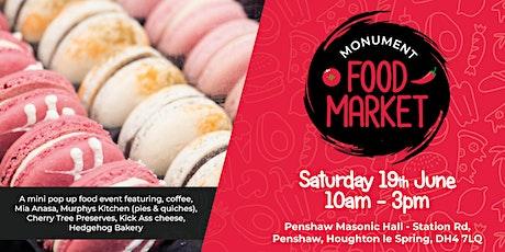 Monument Food Market - June tickets