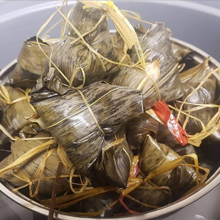 How To Make Zongzi  粽子 - Call Me Chef Live Cooking Class image