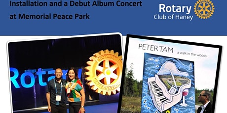 Haney Rotary Installation and debut album launch event tickets