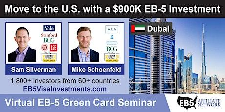 U.S. Green Card Virtual Seminar – Dubai, UAE biglietti