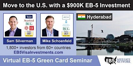 U.S. Green Card Virtual Seminar – Hyderabad, India tickets