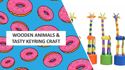 Wood Art: Dancing Animals & Tasty Keyrings tickets