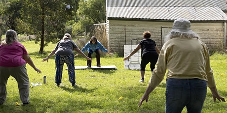 STRETCH Tai Chi classes outdoors: Stay Warm & Flexible this Winter! tickets