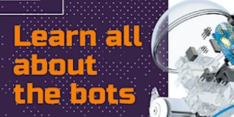 School Holiday Activity: Sphero Robots @ Leongatha Library tickets