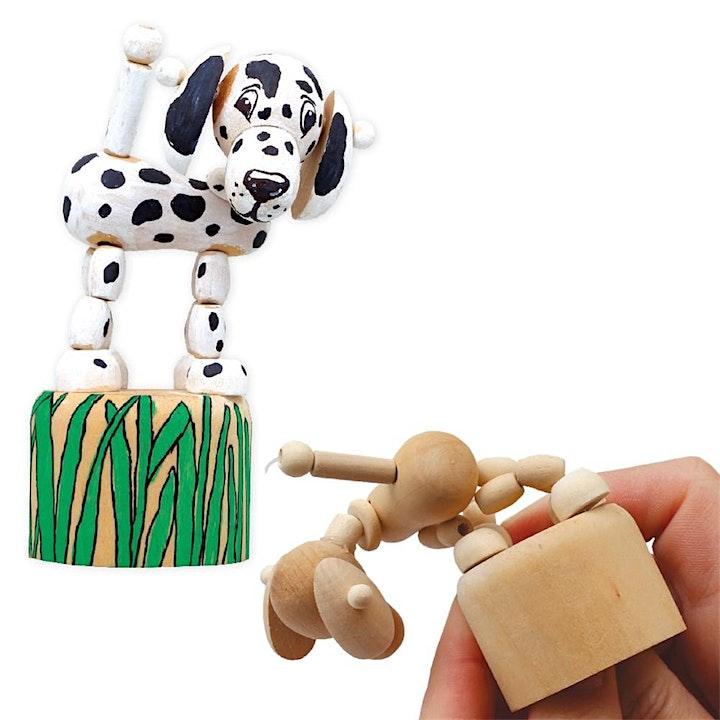 Wood Art: Dancing Animals & Tasty Keyrings image