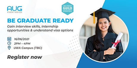 [AUG Perth] Be Graduate Ready Workshop tickets