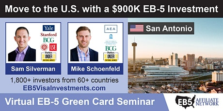 U.S. Green Card Virtual Seminar – San Antonio, US tickets