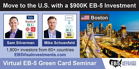 U.S. Green Card Virtual Seminar – Boston, US tickets