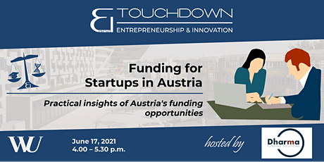 Funding for Startups in Austria biljetter