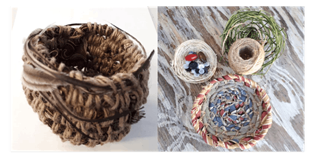 Come and Try for over 55s:  Basket Weaving with Leisa Antonio tickets