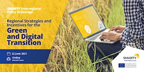 3rd Interregional Policy Brokerage - Green and Digital Transition Tickets